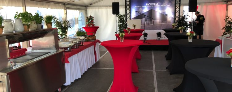 SEGRO Richtfest mit de Eventagentur Holger Moll Eventgroup